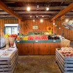 Légumes en vente